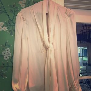 Magaschoni silk blouse